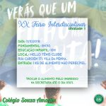 XX FEIRA INTERDISCIPLINAR - Unidade I